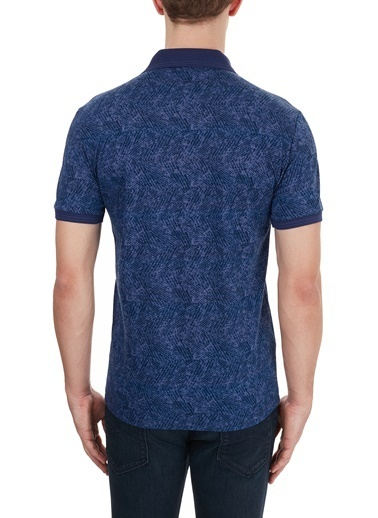 Lacoste  Slim Fit % 100 Pamuk Düğmeli Polo T Shirt Erkek Polo Ph0020 20L Lacivert